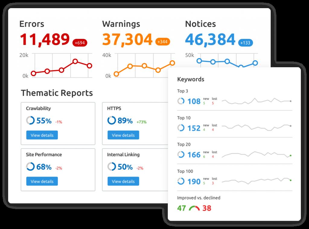 AdWords, SEO, Web Page Development
